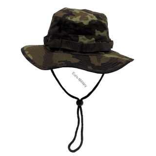 Czech Army M95 Camo Pattern Military Bush Hat - Rip Stop